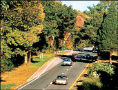 Merritt Parkway in connecticut