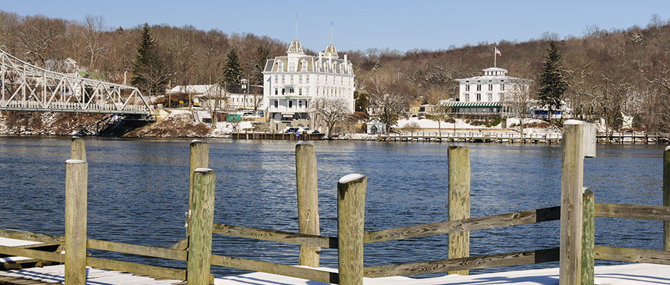 Goodspeed Opera House, East Haddam, CT, and the Connecticut River
