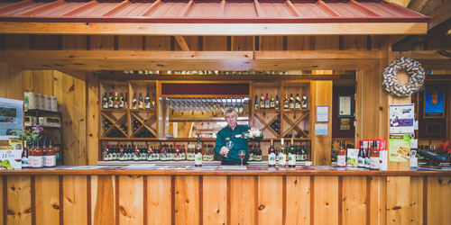 Wine Tasting 500x250 - Bishop's Orchards - Guilford, CT