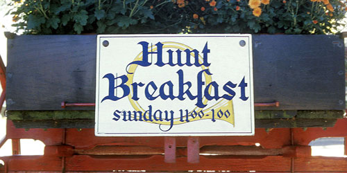Sunday Hunt Breakfast 500x250 - Griswold Inn - Essex, CT