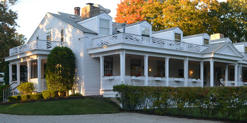 South Porch 500x250 - Captain Stannard House B&B - Westbrook, CT