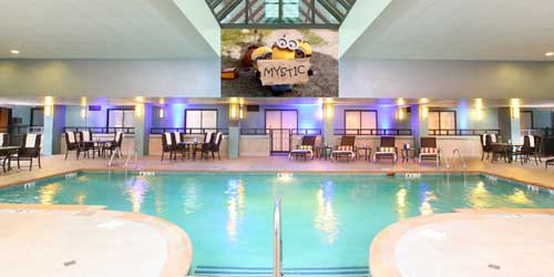 Indoor Pool - Hilton Mystic - Mystic, CT - Photo Credit Don Miguel Photography