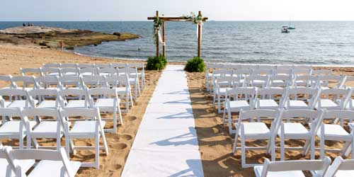 Beach Wedding - Madison Beach Hotel - Madison, CT