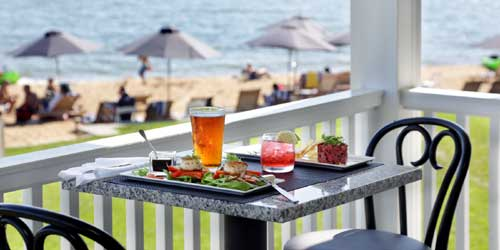 Waterfront Dining - Madison Beach Hotel - Madison, CT - Photo Credit Dom Miguel Photography