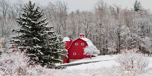 Barn Winter 500x250 - Dolce Norwalk Hotel & Conference Center - Norwalk, CT