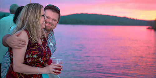 Romantic Sunset 500x250 - Essex Steam Train & Riverboat - Essex, CT