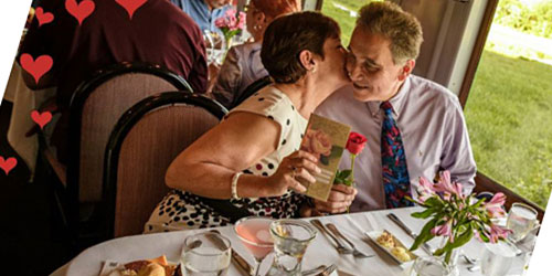 Romantic Dining 500x250 - Essex Steam Train & Riverboat - Essex, CT