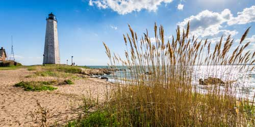 Lighthouse Point State Park -credit shutterstock
