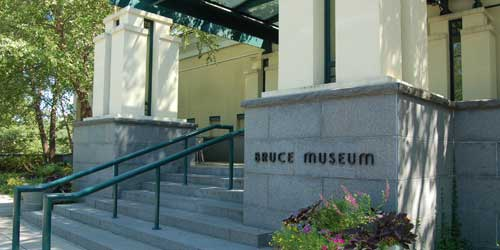 Bruce Museum Entrance Greenwich CT