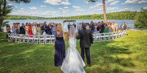 Interlaken Inn Family Lake Wedding Lakeville CT
