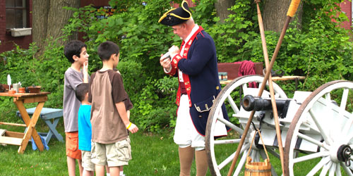 Webb Deane Stevens Revolutionary War encampment credit--Charles-Lyle
