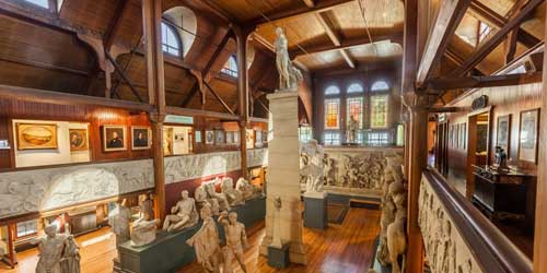 Interior Slater Memorial Museum and Converse Art Gallery Norwich Connecticut