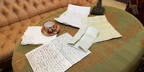 Tea Room Notes - Harriet Beecher Stowe Center - Hartford, CT