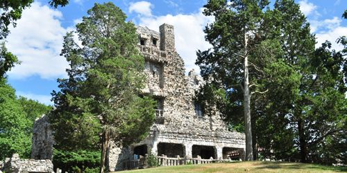 Gillette Castle in East Haddam - Lower CT River Valley