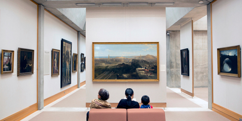 4th Floor Galleries - Yale Center for British Art - New Haven, CT - Photo Credit Harold Shapiro