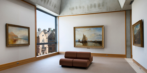 Turner Bay 4th Floor - Yale Center for British Art - New Haven, CT - Photo Credit Richard Caspole