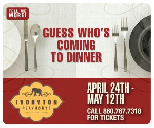 Guess Who's Coming to Dinner - April 24 - May 12, 2019 at Ivoryton Playhouse. Click here to reserve your tickets.