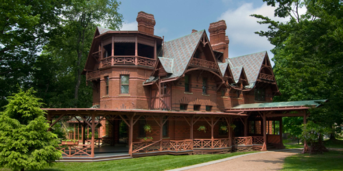 Full View - Mark Twain House & Museum - Hartford, CT - Photo Credit John Groo