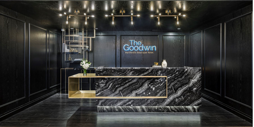 Front Desk - The Goodwin Hotel - Hartford, CT