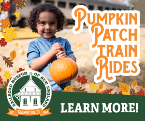 Railroad Museum of New England - Thomaston, CT - Click here for more info about our Pumpkin Patch Train Rides!