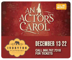 An Actors' Carol - December 13-22, 2019 at Ivoryton Playhouse. Click here to reserve your tickets.