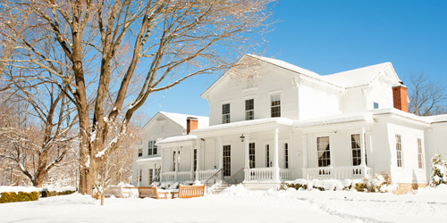 Winter in Connecticut - Old Lyme Inn