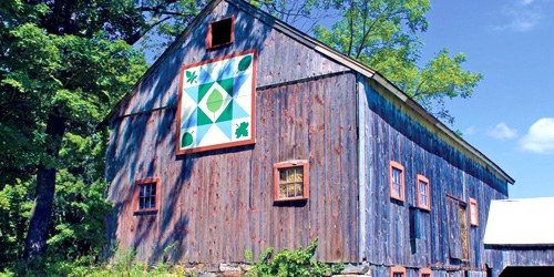 barn quilt trail in connecticut
