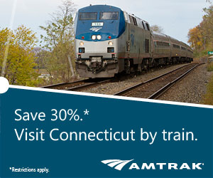 Amtrak and Commuter Rail Train Schedules for Connecticut