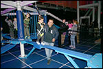 family activities - IT Adventure Indoor Ropes Course