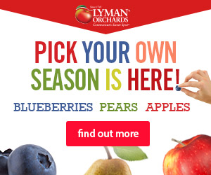 Pick Your Own Season is here! Come get your fresh apples, pears and blueberries at Lyman Orchards in Middlefield, CT - Click here for more info.