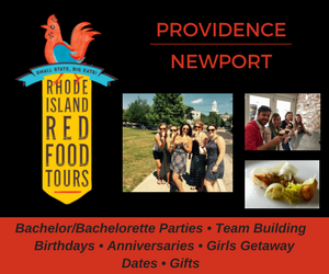 Rhode Island Red Food Tours - Serving Providence and Newport! Click here for a great group dining experience!