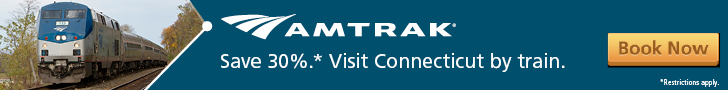Amtrak - Visit Connecticut by Train and Save 30%!